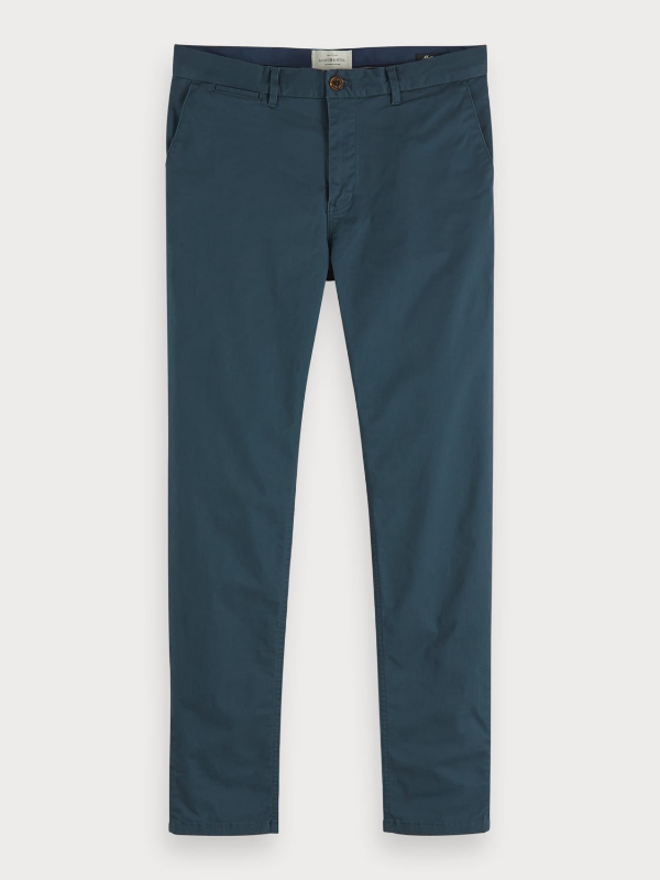 Scotch & Soda Mott Slim Fit Steel Chinos
