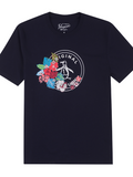Original Penguin Floral Stamp T-Shirt