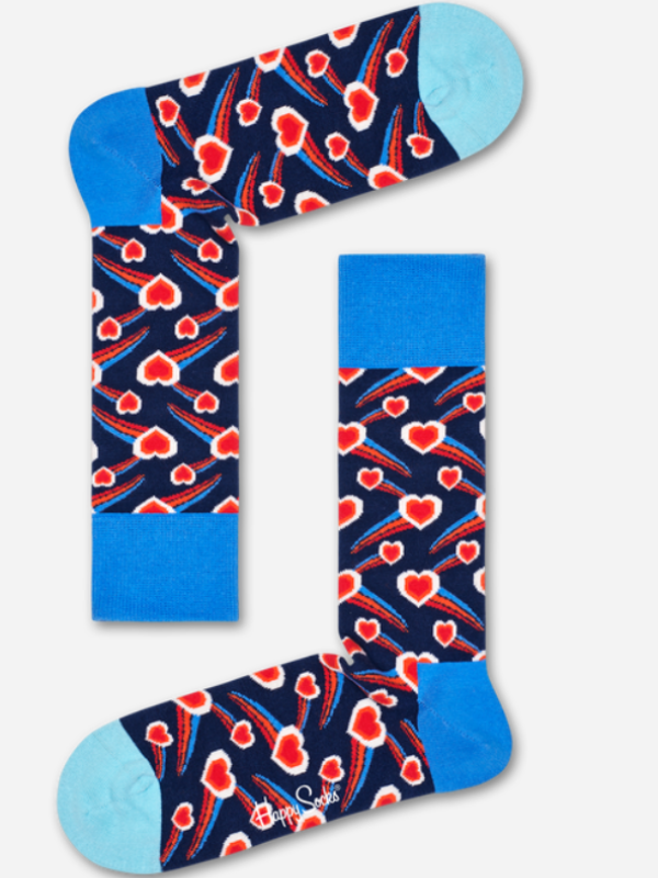 Happy Socks Shooting Heart