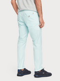 Scotch & Soda Blue Regular Fit Chino