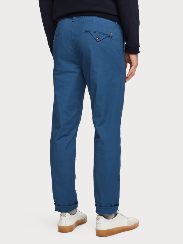 Scotch & Soda Worker Blue Regular Fit Chino