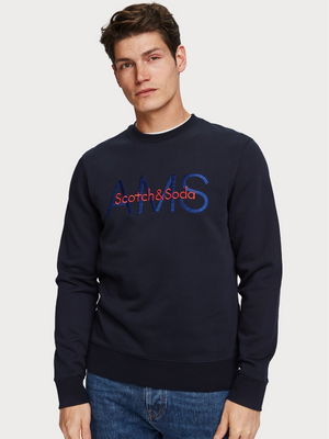 Scotch & Soda Logo Detail Sweatshirt