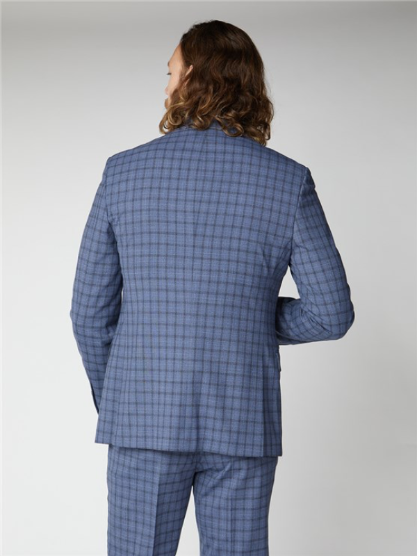 Gibson London Blue Check Jacket