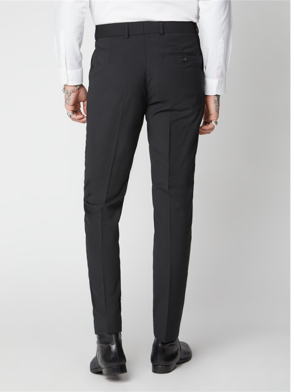 Gibson London Black Tuxedo Trouser