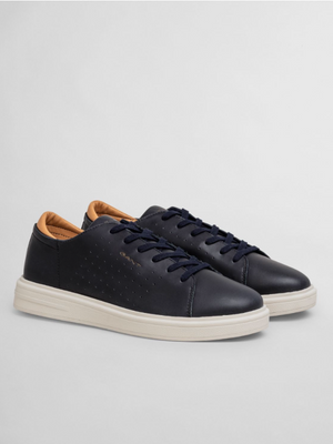 GANT Navy Leather Sneaker
