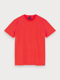 Scotch & Soda Red Print T-Shirt