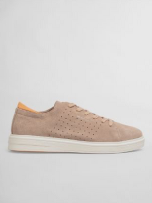 GANT Farville Taupe Suede Sneaker