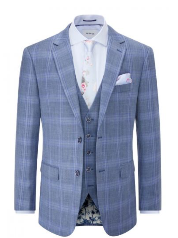 Skopes Kaye Check Suit Jacket