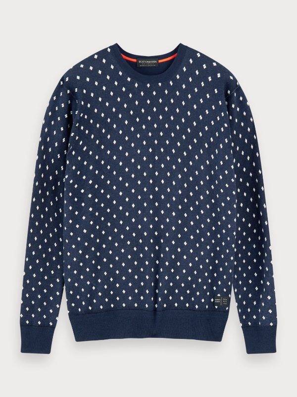 Scotch & Soda Print Crewneck