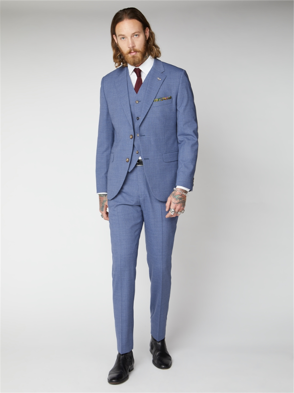 Gibson London Blue Trouser
