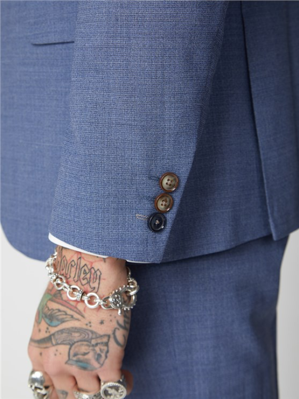 Gibson London Blue Suit Jacket