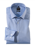 Olymp Body Fit Blue Shirt