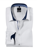 Olymp White Body Fit Shirt