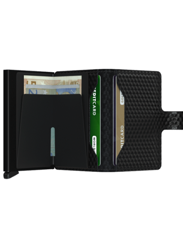 Secrid Black Cubic Mini Wallet