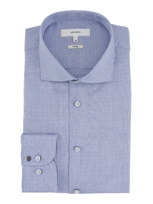 2BLIND2C Blue Slim Fit Shirt