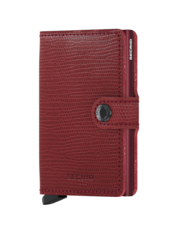 Secrid Rango Red-Bordeaux Mini Wallet