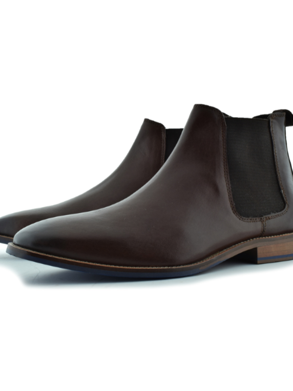 Paolo Vandini Dark Brown Chelsea Boot