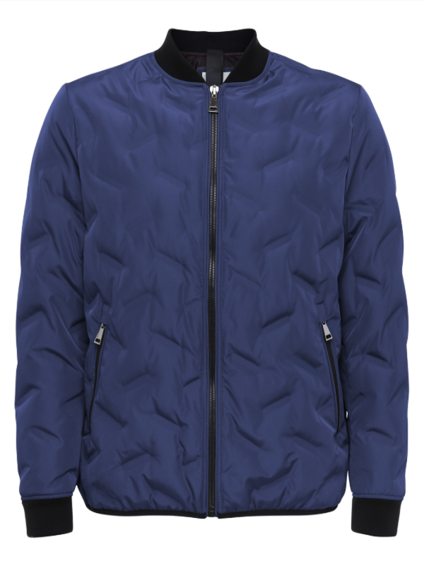 2BLIND2C Dark Blue Bomber Jacket
