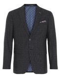 2BLIND2C Dark Grey 3D Stretch Blazer