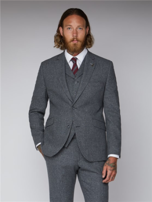 Gibson London Grey Tweed Jacket