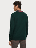 Scotch & Soda Atlas Green Cardigan