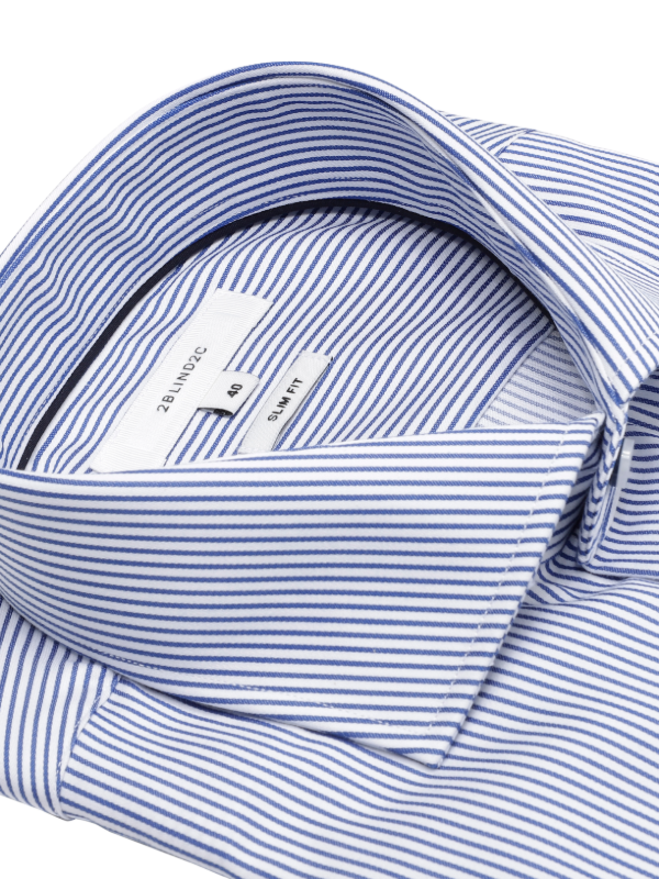 2BLIND2C Slim Fit Stripe Shirt