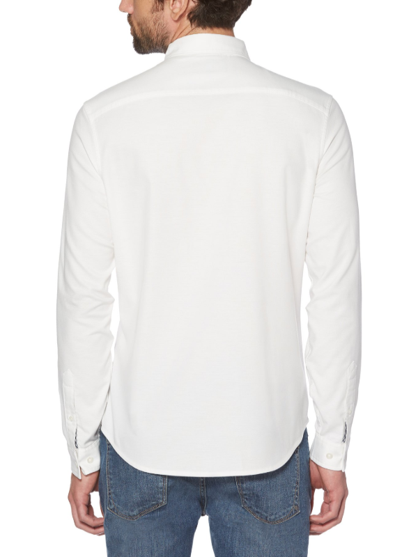 Original Penguin White Oxford Long Sleeve Shirt