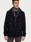 Scotch & Soda Classic Pea Coat