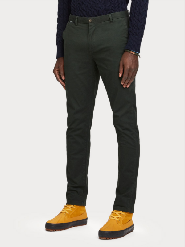 Scotch & Soda Atlas Green Regular Fit Chino