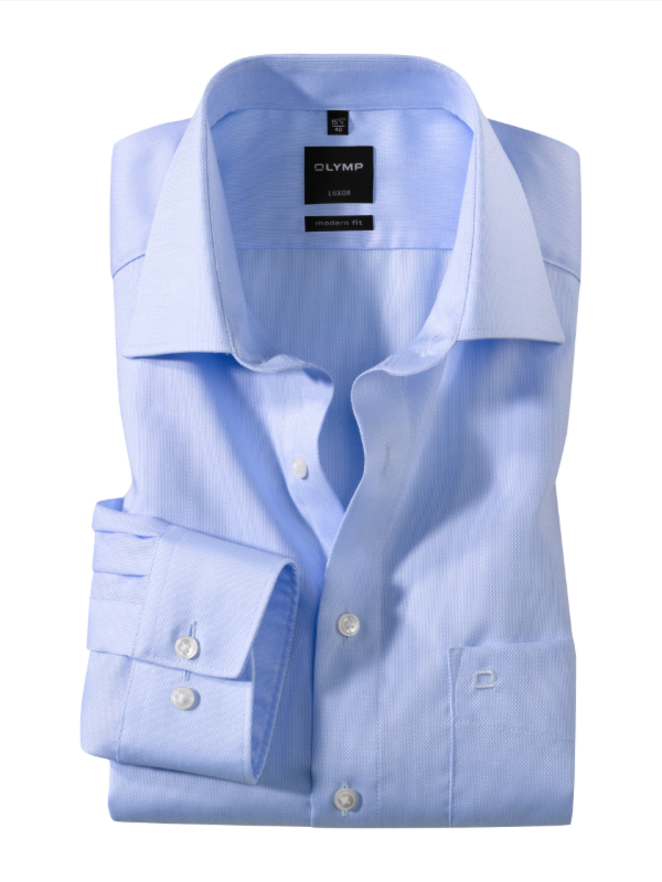 Olymp Light Blue Modern Fit Shirt