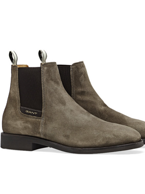 GANT Taupe Suede Chelsea Boots