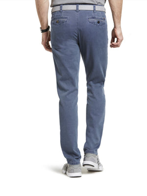Meyer Chicago Blue-Grey Chinos