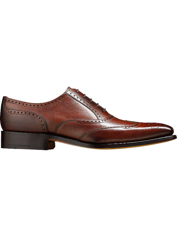 Barker Johnny - Dark Brown Calf Leather Shoes