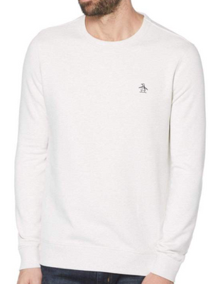 Original Penguin Light Grey Sweatshirt