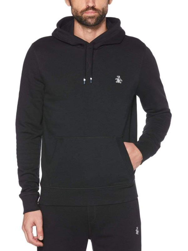 Original Penguin Black Hoddie Sweatshirt