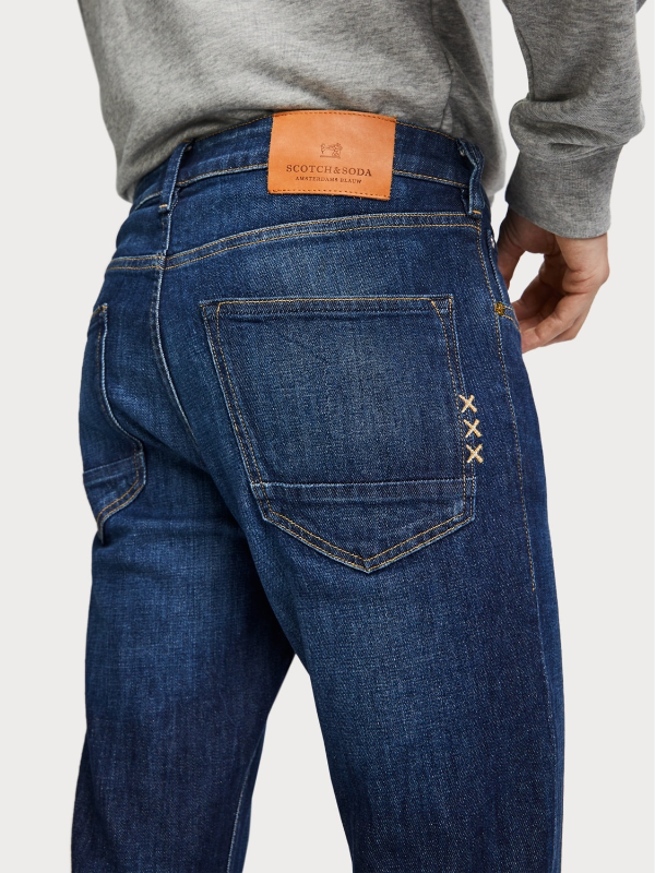 Scotch & Soda Dark Shades Skim Jeans