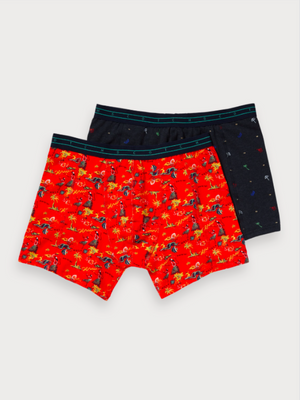 Scotch & Soda Print Boxer Shorts