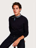 Scotch & Soda Classic Navy Crewneck Jumper