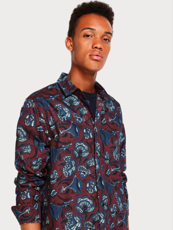 Scotch & Soda Printed Batik Shirt