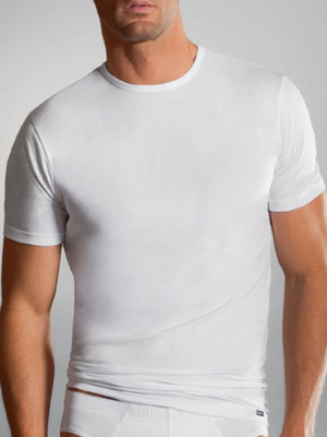 Jockey Fitted White T- Shirt