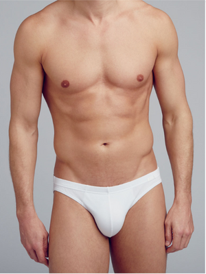 Jockey White Cotton 3 Pack Brief