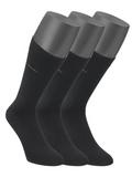 Jockey Black 3 Pack Socks