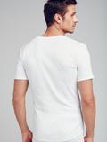 Jockey White V-Neck T-Shirt