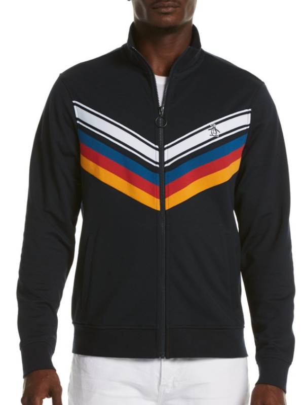 Original Penguin Chevron Track Top