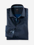 Olymp Body Fit Navy Shirt