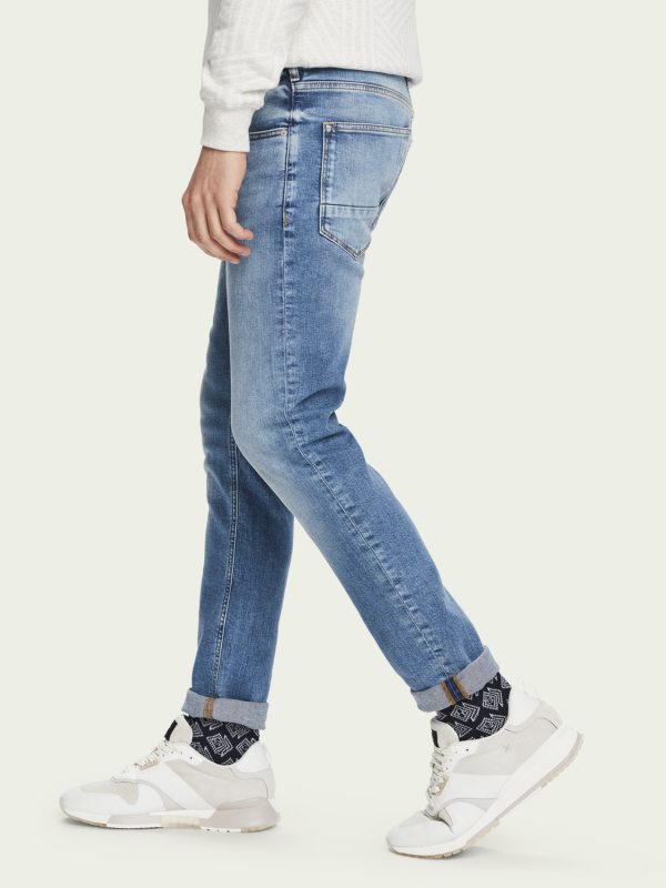 Scotch & Soda Silver Ripple Skim Jean