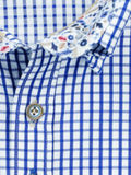 Andre Duke Navy Check Shirt