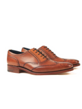 Barker Johnny - Antique Rosewood Leather Shoes