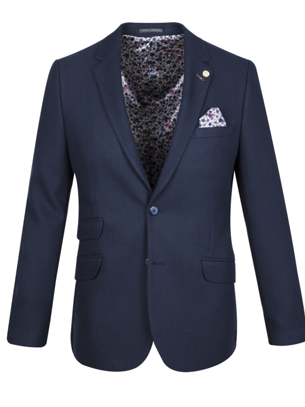 Guide London Navy Blazer