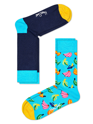 Happy Socks 2 Pack Banana Socks